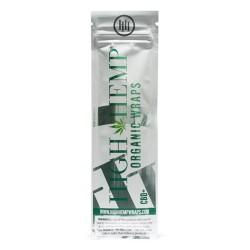 High Hemp 100% Organic Wraps - Vegan 25/2ct