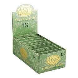 "JOB Organic Hemp 1.5"" Papers - 24ct Box"
