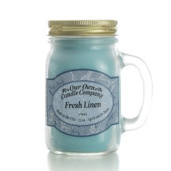 Our Own Candle 16oz  FRESH LINEN