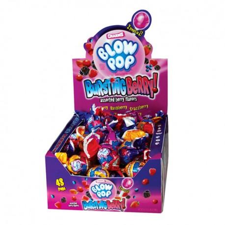 Charms  $0.25 Blow Pop 48ct - Bursting Berry