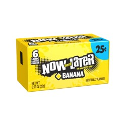 Now & Later 24/6pc Banana