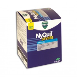 Dispenser 25ct - Vick's Ny-Quil Severe+