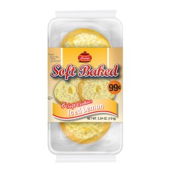 Carley's - PP $.99 - 12ct Soft Baked Cookies - ICED LEMON