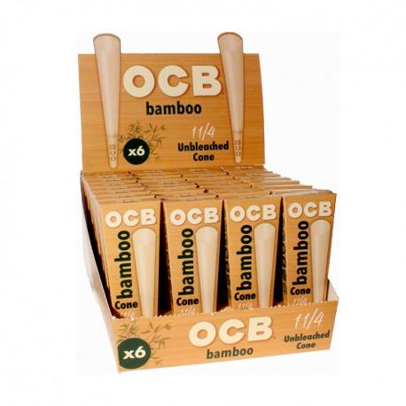 OCB   - Bamboo Cone 32/6ct - 1.25in