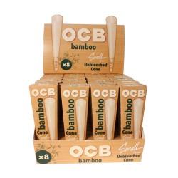 OCB   - Bamboo Cone 32/8ct - Small 78mm