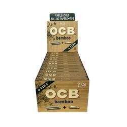 OCB   - Bamboo 24ct - 1.25in w/Tips