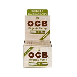 OCB   - Organic Hemp 24ct - 1.25in w/Tips