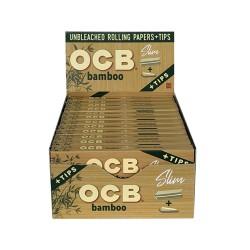 OCB   - Organic Hemp 24ct - Slim w/Tips