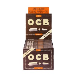 OCB   - Virgin 24ct - 1 1/4 w/Tips