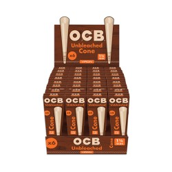OCB   - Virgin Cones  32/6ct - 1 1/4