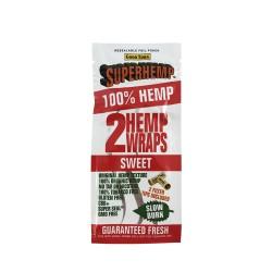 Superhemp Hemp Wraps 25/2ct - Sweet