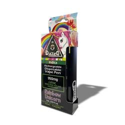 Dazed8 Delta 8 1ml SINGLE Disposable - Rainbow Unicorn