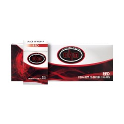 OHM  Filtered Cigars - RED
