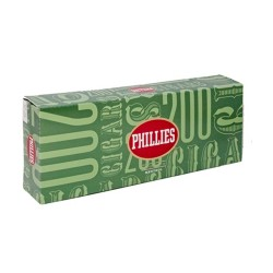 Phillies Tipped Filtered Cigars - MENTHOL