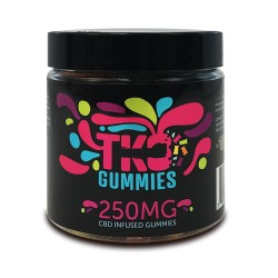 Terp Nation Gummies 250mg SOUR WORMS