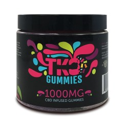 Terp Nation Gummies 1000mg SOUR WORMS